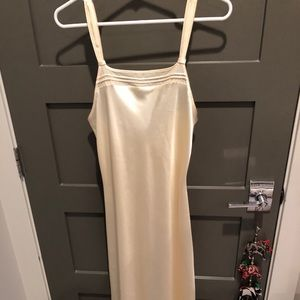 Halston yellow nightgown and robe